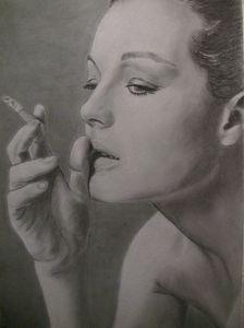 Romy Schneider par Manvale